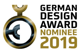 AIRO by ENTWURFREICH has been nominated for the GERMAN DESIGN AWARD 2019