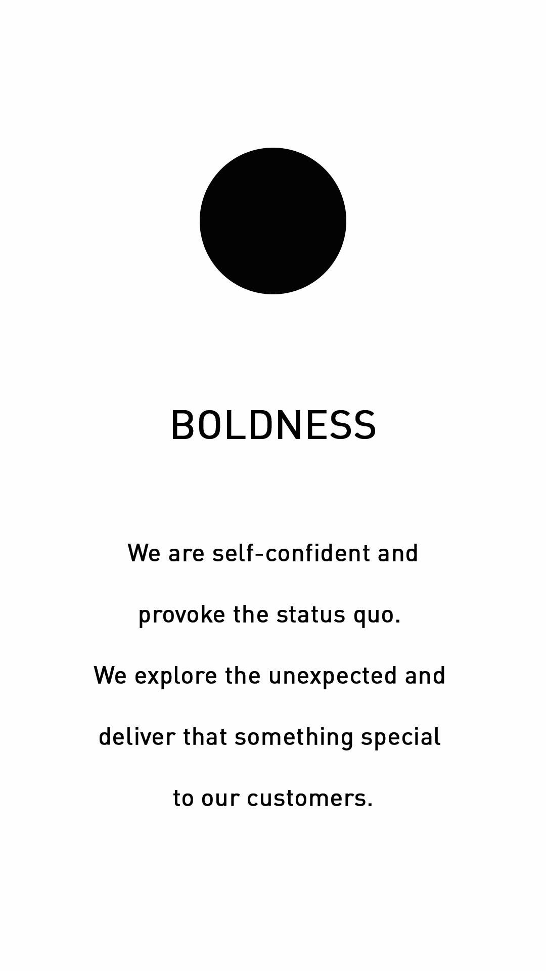 Entwurfreich Core Value Boldness