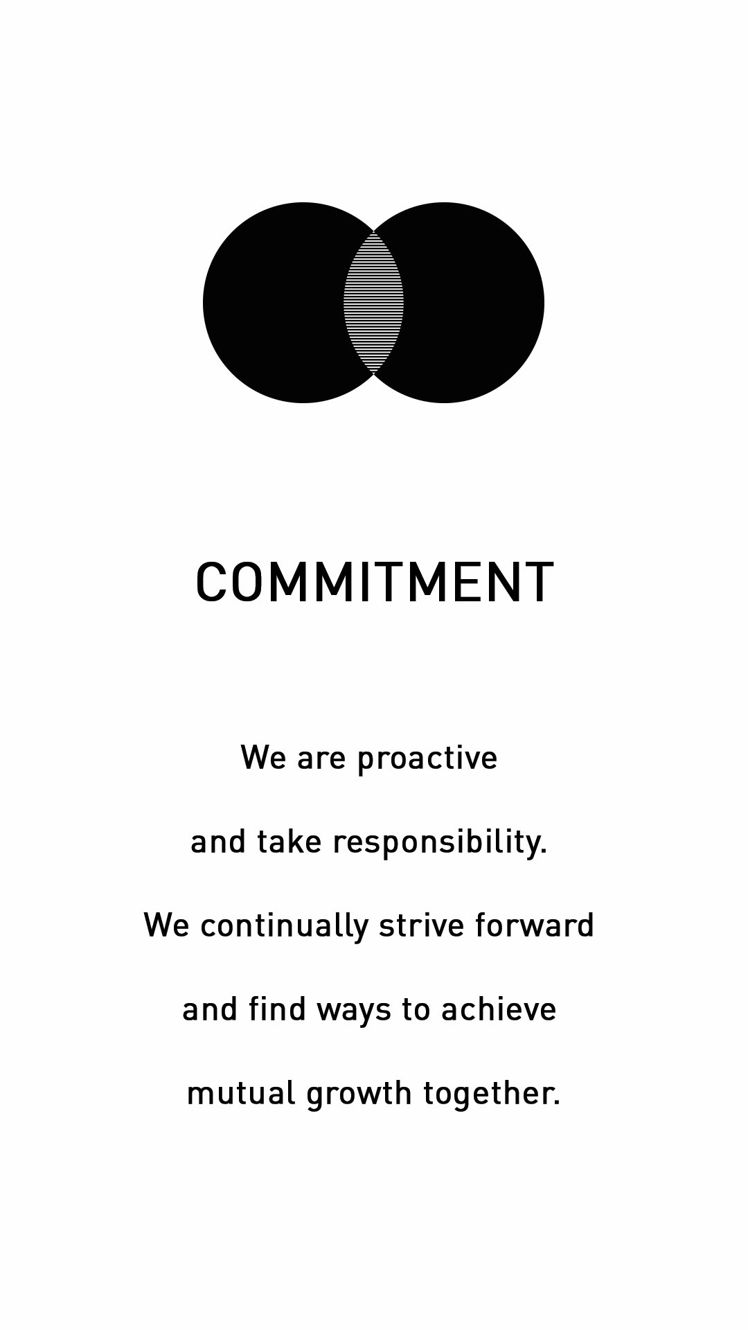 Entwurfreich Core Value Commitment