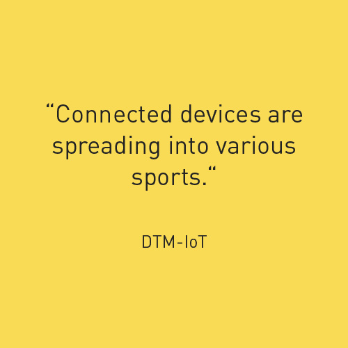 connected devices are spreading into various sports