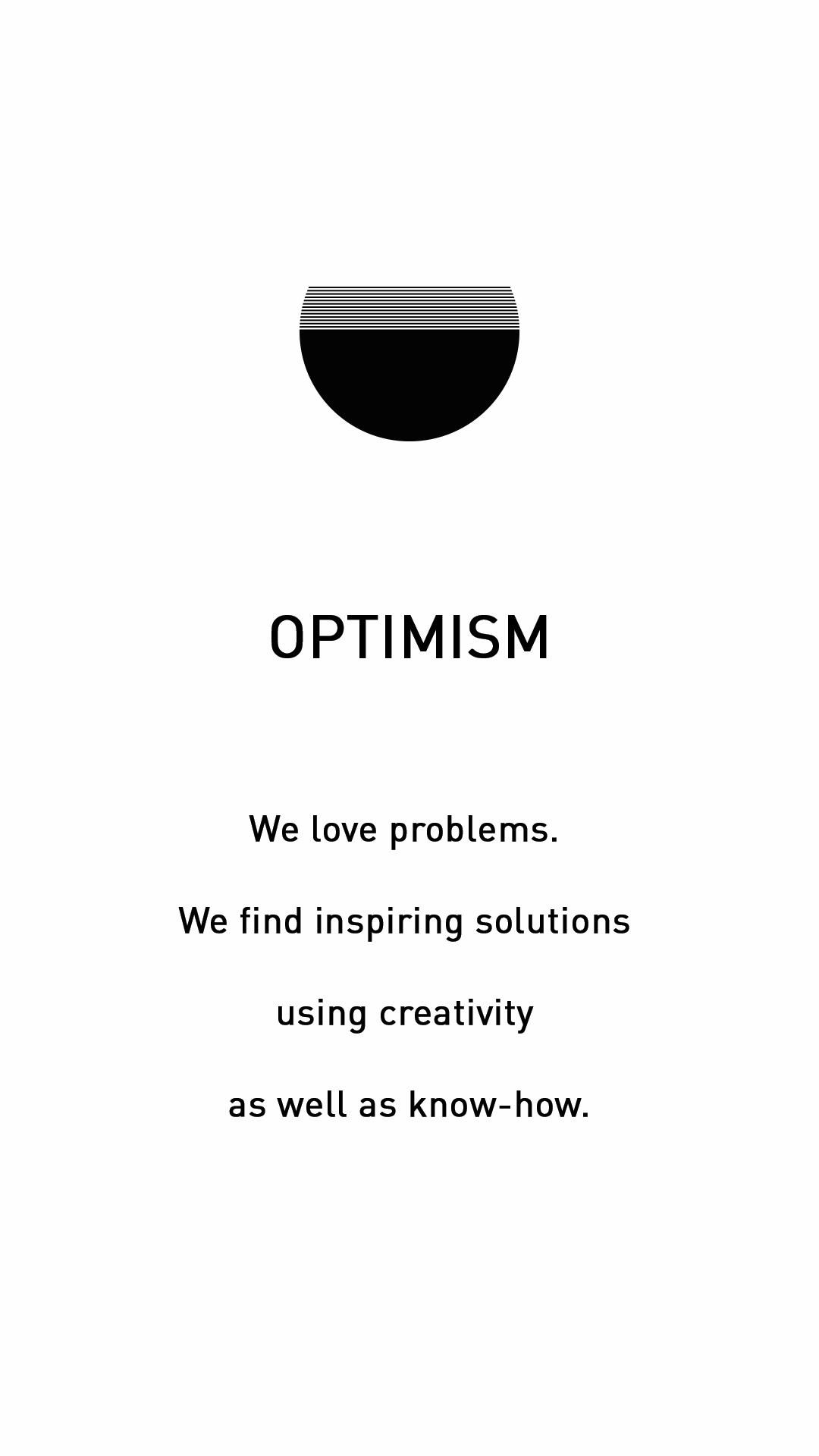 Entwurfreich Core Value Optimism