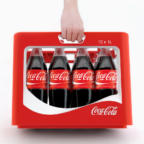 Erfolgreiches Produktdesign von Entwurfreich für Coca Cola.