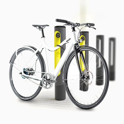 Erfolgreiches Produktdesign von Entwurfreich für E Pole Ladestationen.